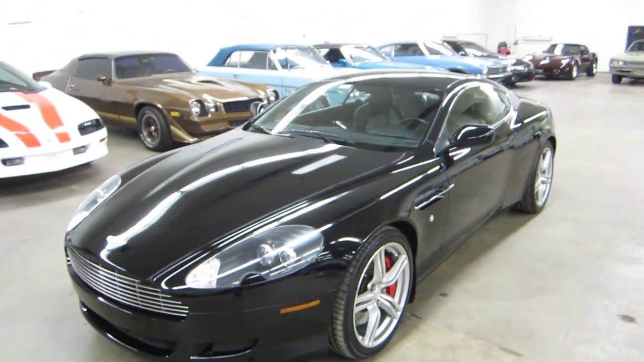 2008 aston martin db9 coupe 6-speed manual transmission ** sold
