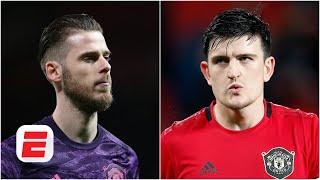 David De Gea or Harry Maguire Who should be Man United captain  Premier League