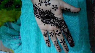 Full Hand Indian Mehndi Design -How To Do Bridal Henna Mehendi Art