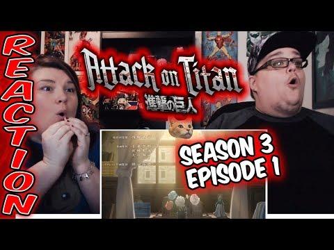 Attack on Titan Season 3 x 1 (Episode 38) REACTION!!
