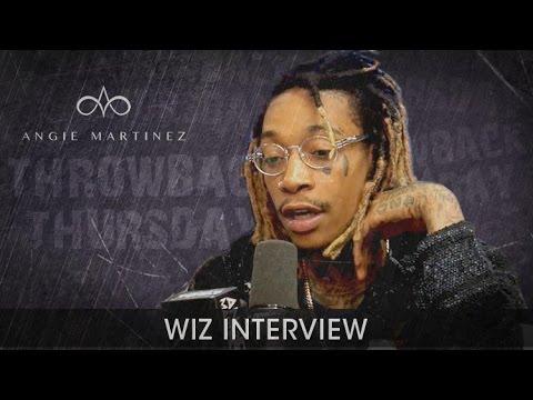 #TBT Wiz Khalifa Sits Down w/ Angie Martinez to Discuss Kanye Twitter Beef, The Oscars + Amber Rose