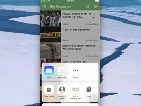 Big Reporter Cross Platform World News App