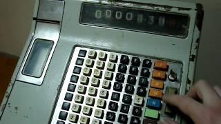 Кассовый аппарат ОКА-4600. Cash register OKA-4600.