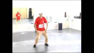 Утренний урок по house dance от Ключко Дмитрия (Art People)