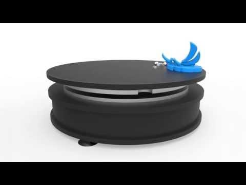 mouvements ph nix plateau tournant industriel youtube. Black Bedroom Furniture Sets. Home Design Ideas
