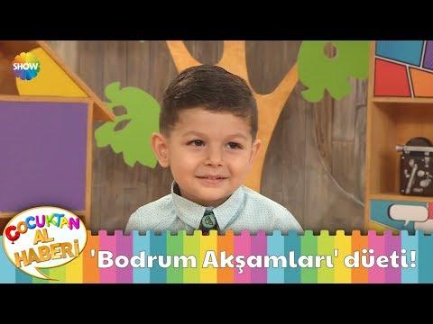 Minik Arda ve Bülent Serttaş'tan 'Bodrum Akşamları' düeti!