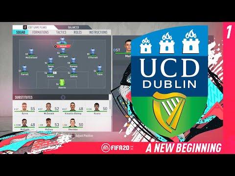 A NEW BEGINNING !! #1 - FIFA 20 UCD AFC CAREER MODE