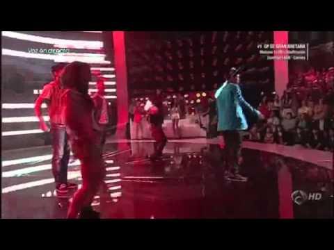 Abraham Mateo baila Señorita en Número Uno