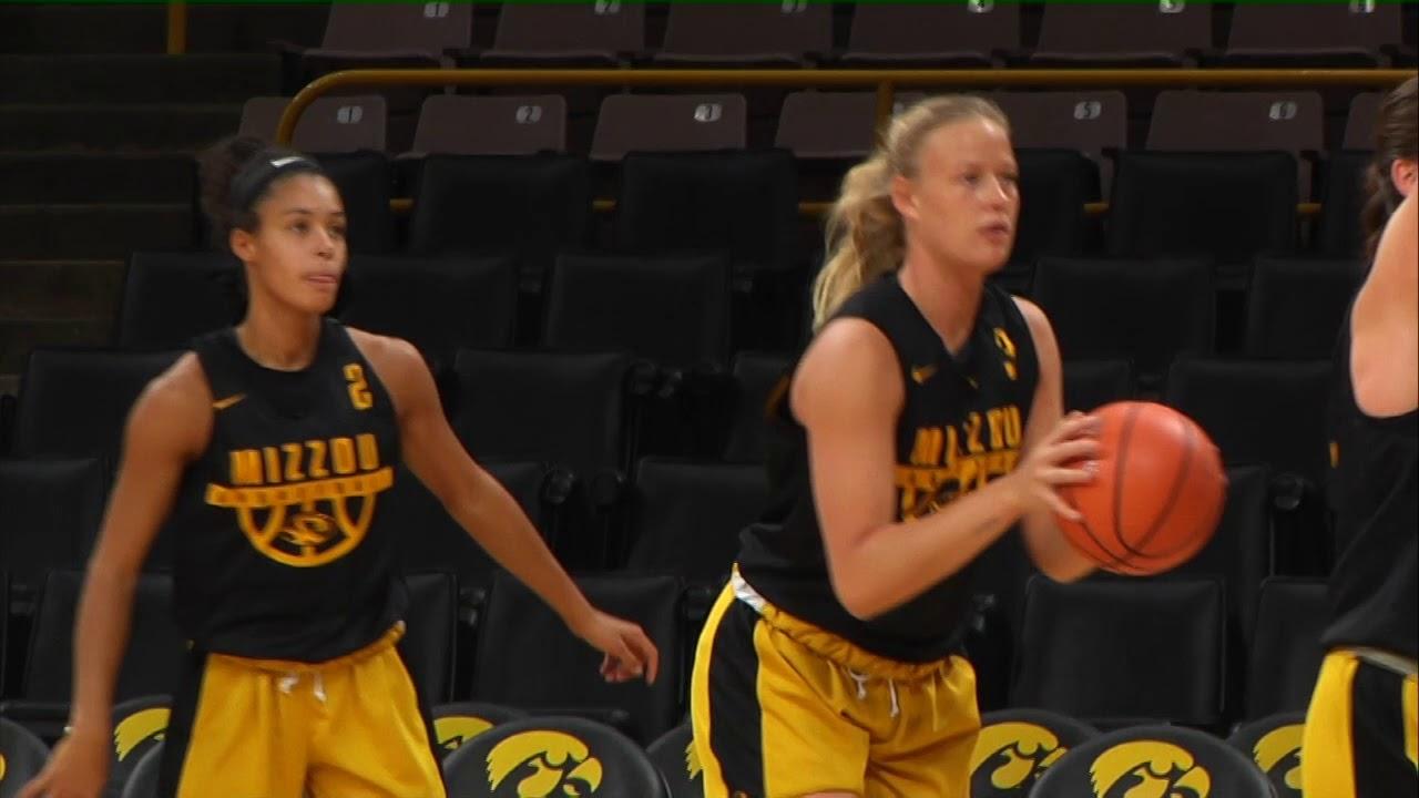 Mizzou Women's Basketball Hits the Road to Iowa - YouTube
