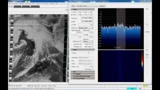 receiving noaa weather satellite using sdr and wxtoimg