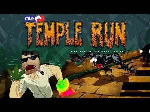 MLG TEMPLE RUN!!!!