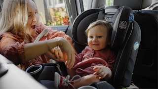 Unboxing The Graco 4Ever DLX 4-in-1 Car Seat | Ad Content For Graco