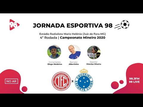 CRUZEIRO X TUPYNAMBÁS | CAMPEONATO MINEIRO | RÁDIO 98FM AO VIVO