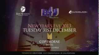 B4U New Years Eve at the Copthorne Hotel Effingham Gatwick 2013