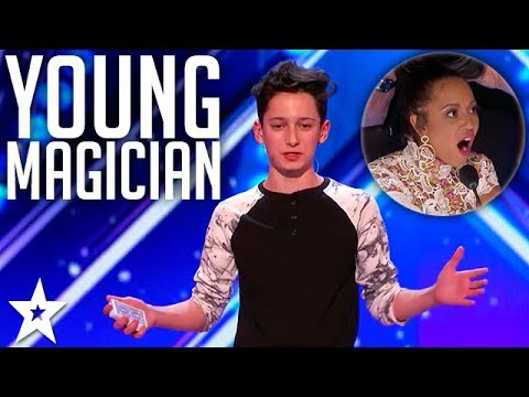 Teen Magician Henry Richardson WOW Judges | America