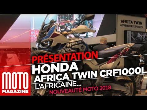 Honda CRF1000L Africa Twin Adventure Sport 2018 - salon moto Milan (EICMA 2017)