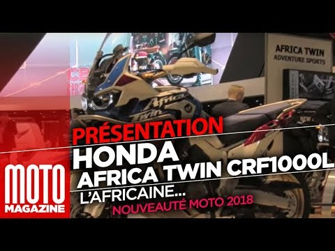 honda africa twin adventure sports crf1000l nouveaut moto 2018 eicma 2017 youtube. Black Bedroom Furniture Sets. Home Design Ideas
