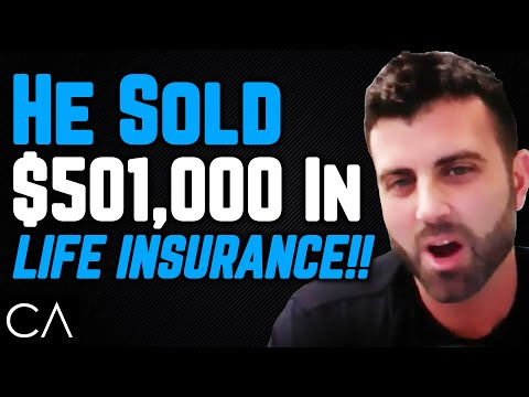 How To Sell $501,000 As A Life Insurance Agent!