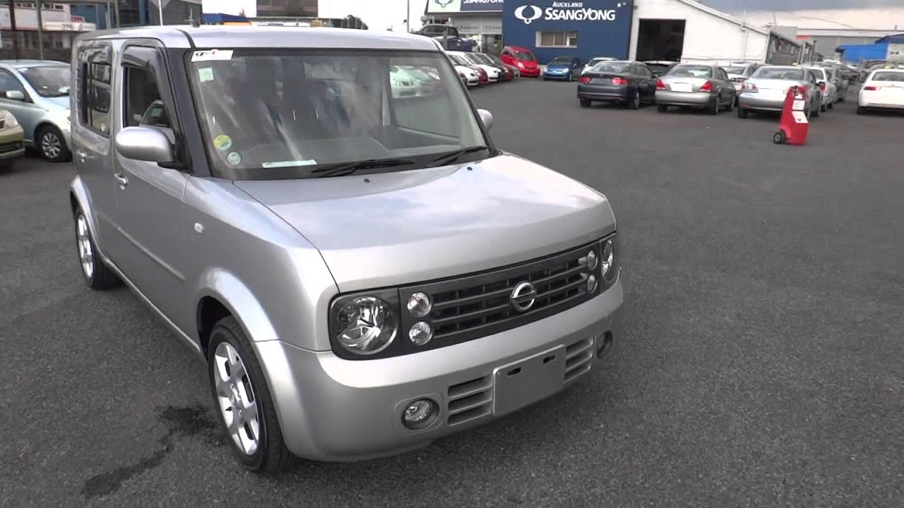 2005 nissan cube cubic 7 seater youtube. Black Bedroom Furniture Sets. Home Design Ideas