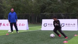 Football: Chinese parents shy away from World Cup dreams