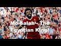 New - Mo Salah Song - The Egyptian King! On Screen  Lyrics