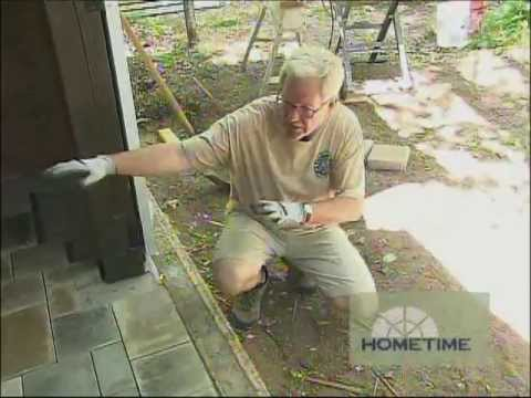 Timber Shed Paver Floor Youtube