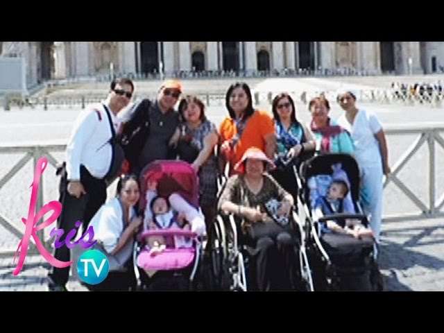 Kris TV: Kris, Joel's family bonding