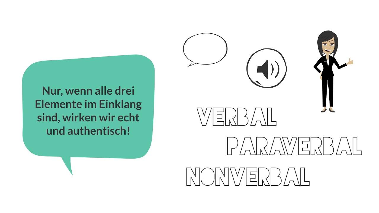 Verbal Paraverbal Nonverbal 2019 - YouTube