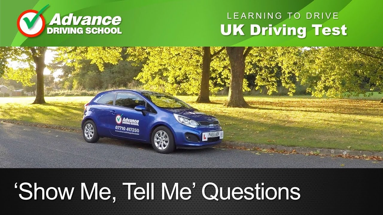 Test Driving Nikon D90 Video With 10 >> Show Me Tell Me Questions Uk Driving Test Youtube
