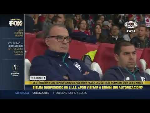 Lille decidió suspender a Marcelo Bielsa