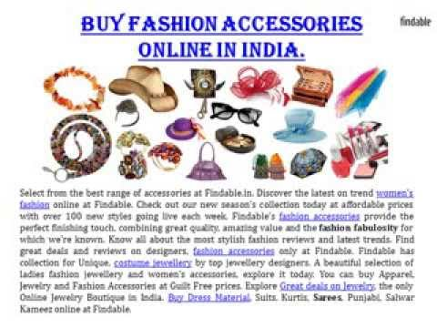 Fashion Accessories Store Colection Online