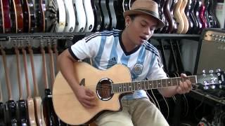 belajar chord last child pedih(cover akustik)