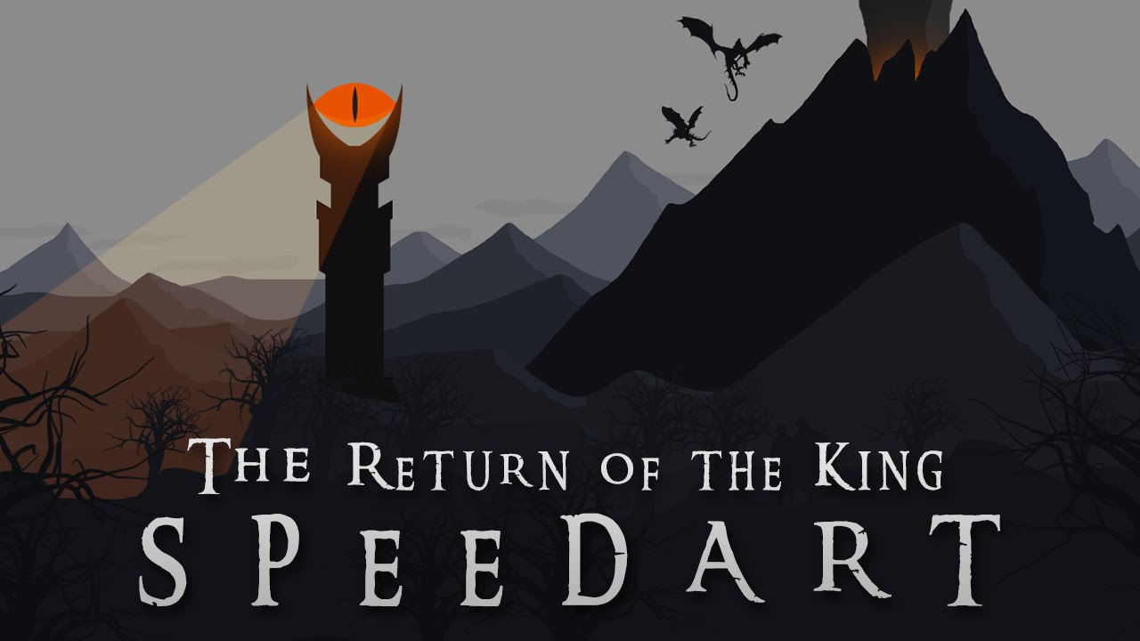The Return Of The King Wallpaper Speedart Photoshop Youtube
