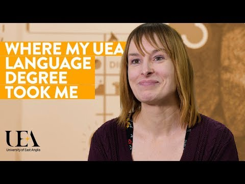 UEA Language And Communication At Work Event 2019: Careers Manager Natalie (Case Study)
