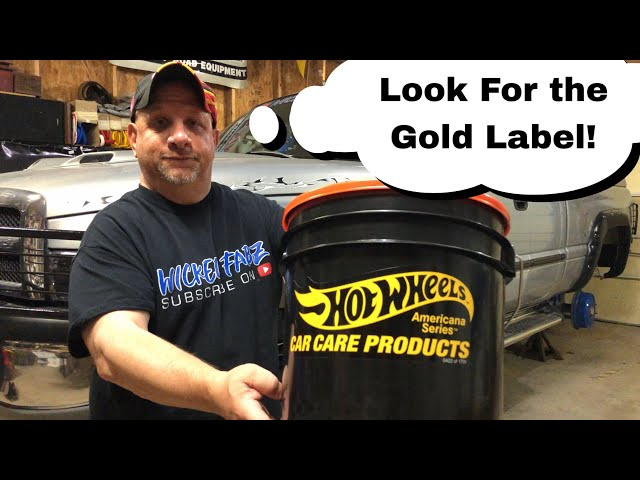 Hot Wheels Limited Edition Car Care Detailing Bucket | Review