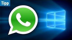 Whatsapp am PC & Mac - Desktop-App erschienen | deutsch / german