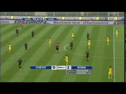 Daniele De Rossi goal v Chievo