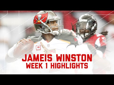 Jameis Winston Highlights | Buccaneers vs. Falcons | NFL Week 1 Player Highlights