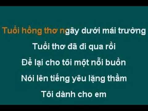 tuoi hong tho ngay-karaoke
