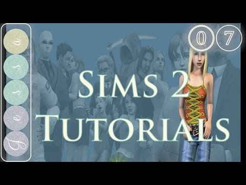 #⓪❼ The Sims 2 Tutorial Series 07, Tips and Tricks  Decorating Your New Hood