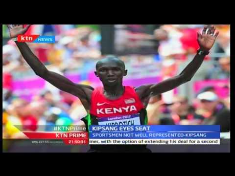 KTN Prime: Olympic Marathon record holder Wilson Kipsang' eyes Keiyo South MP seat