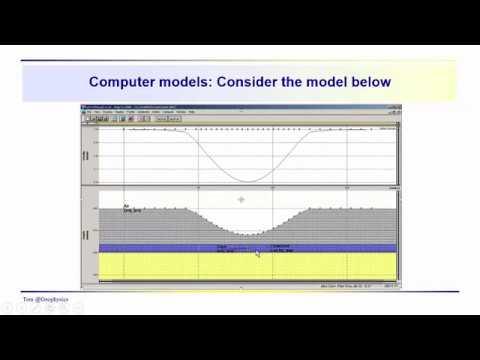 Geophysics: Gravity - Anomaly interpretation using gravity modeling software