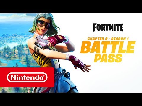 Fortnite Chapter 2 - Season 1 Battle Pass (Nintendo Switch)