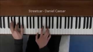 Daniel Caesar - Streetcar (Piano Cover)