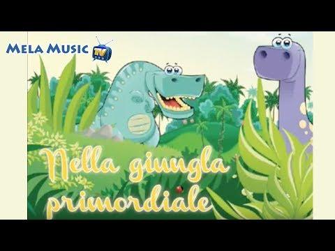 I dinosauri nella giungla primordiale - Canzoni per bambini