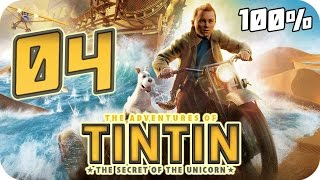 The Adventures of Tintin: The Game Walkthrough Part 4 (PS3, X360, Wii) 100% Movie Chapter 15 - 16