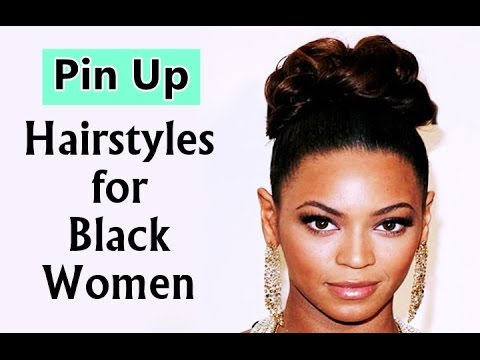 black hair pinup styles pin up hairstyles for black 2280 | hqdefault
