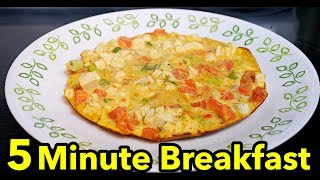 5 Minute Breakfast | Low Carb High Protein Recipes | Easy Breakfast Ideas