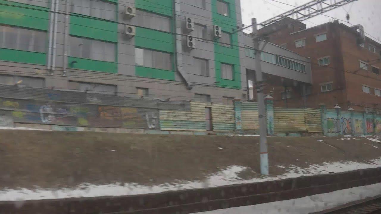 . Раменское-Москва-Казанский вокзал. Поездка на поезде ...