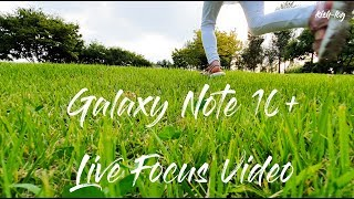 Cinematic vlog using Live Focus Video _ Samsung Galaxy Note 10